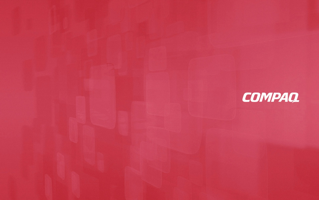 Compaq Ruby wallpapers