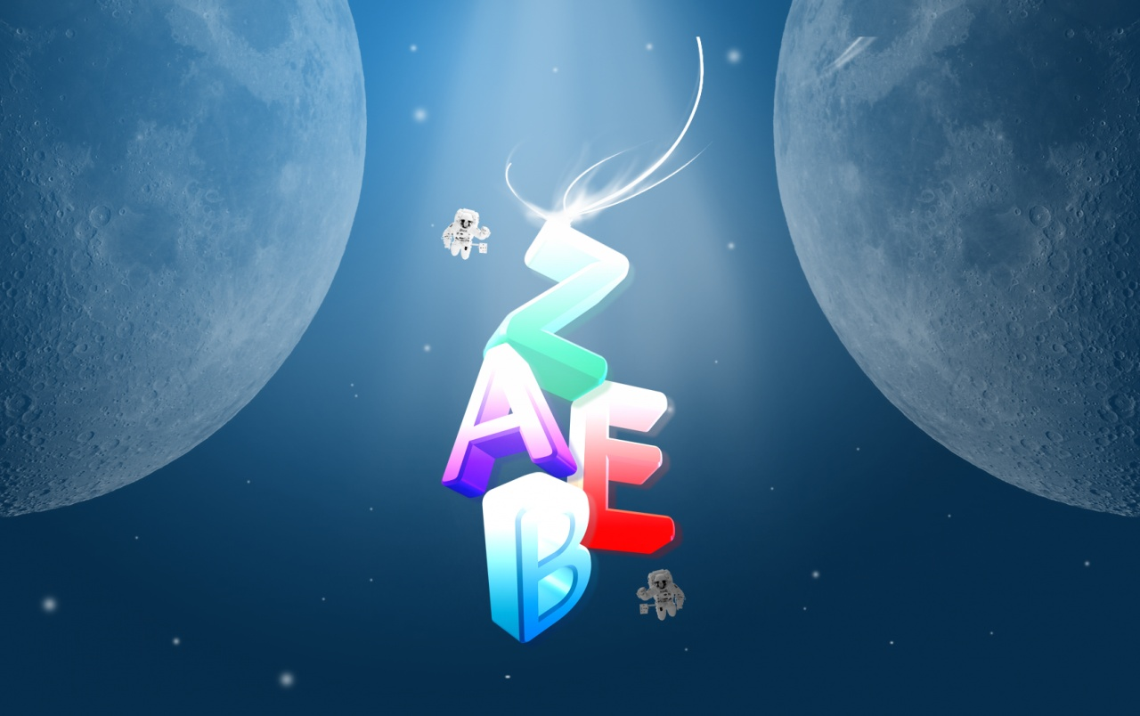 zaeb floating in space wallpapers