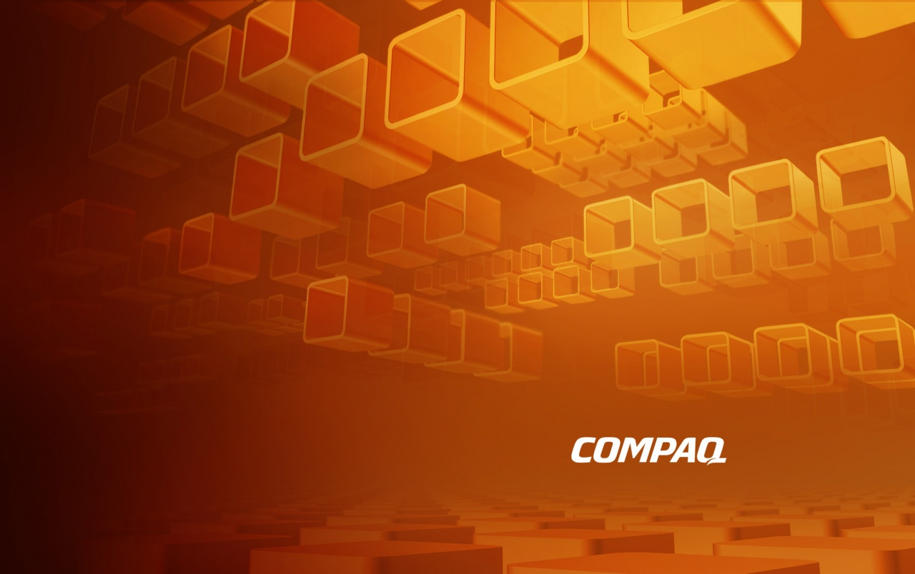 Compaq Boxes wallpapers