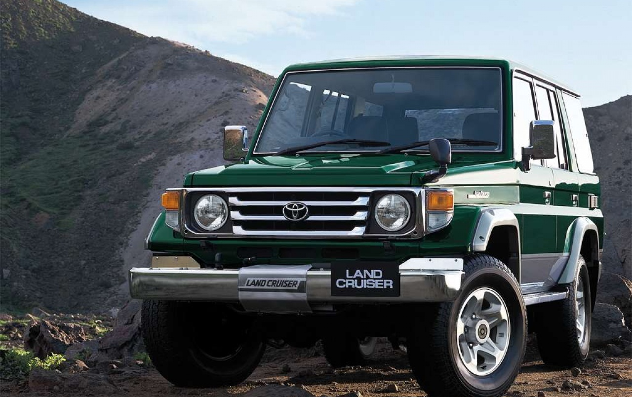 1024x768 Toyota Land Cruiser Desktop Pc And Mac Wallpaper