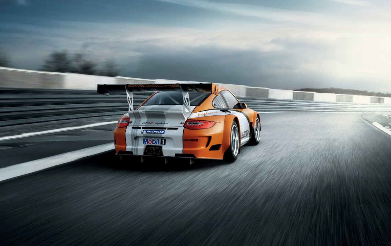 Porsche 911 GT3 R Hybrid wallpapers