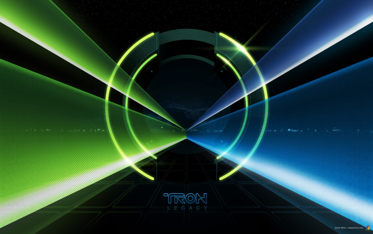 Tron Legacy tunnel wallpapers