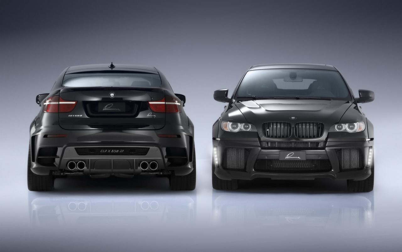 Lumma BMW X6 duo wallpapers