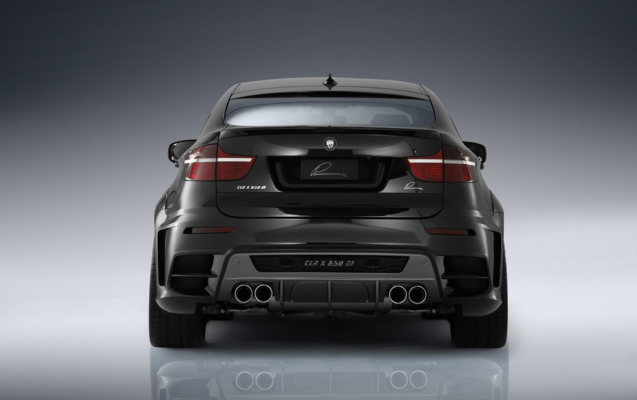 lumma bmw x6 rear wallpapers
