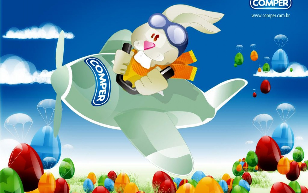 Flying Easter Bunny Wallpapers Flying Easter Bunny Stock Photos