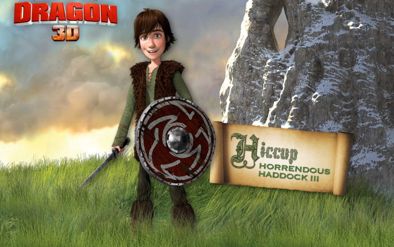 Hiccup Horrendous Haddock III wallpapers