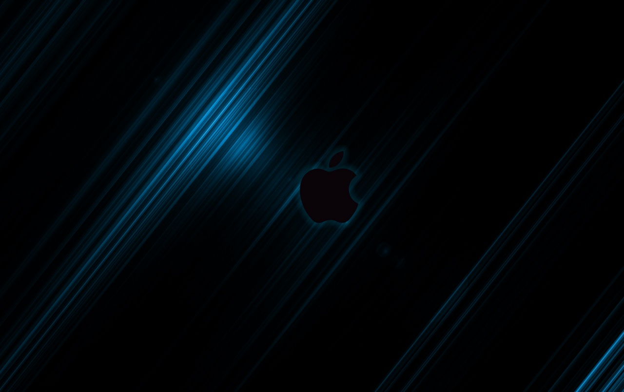 Apple Streak Blue2 By Jompa Wallpapers Apple Streak