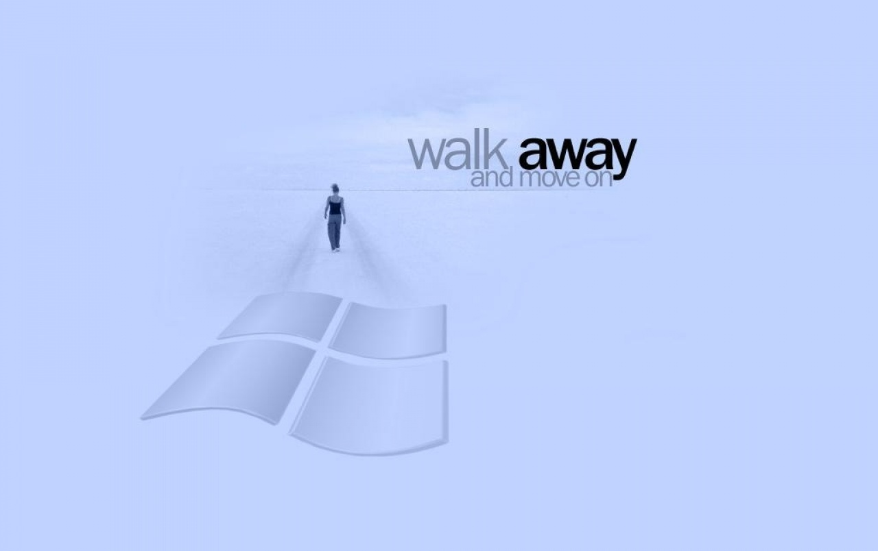 Walk away wallpapers