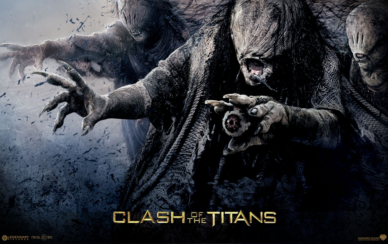 Zombies from Clash of the Titans wallpapers