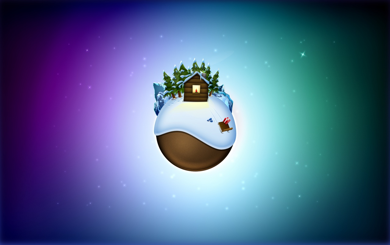 Xmas globe wallpapers