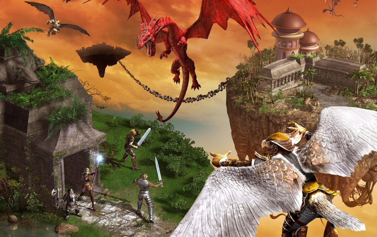 Everquest 2: Kingdom of Sky wallpapers