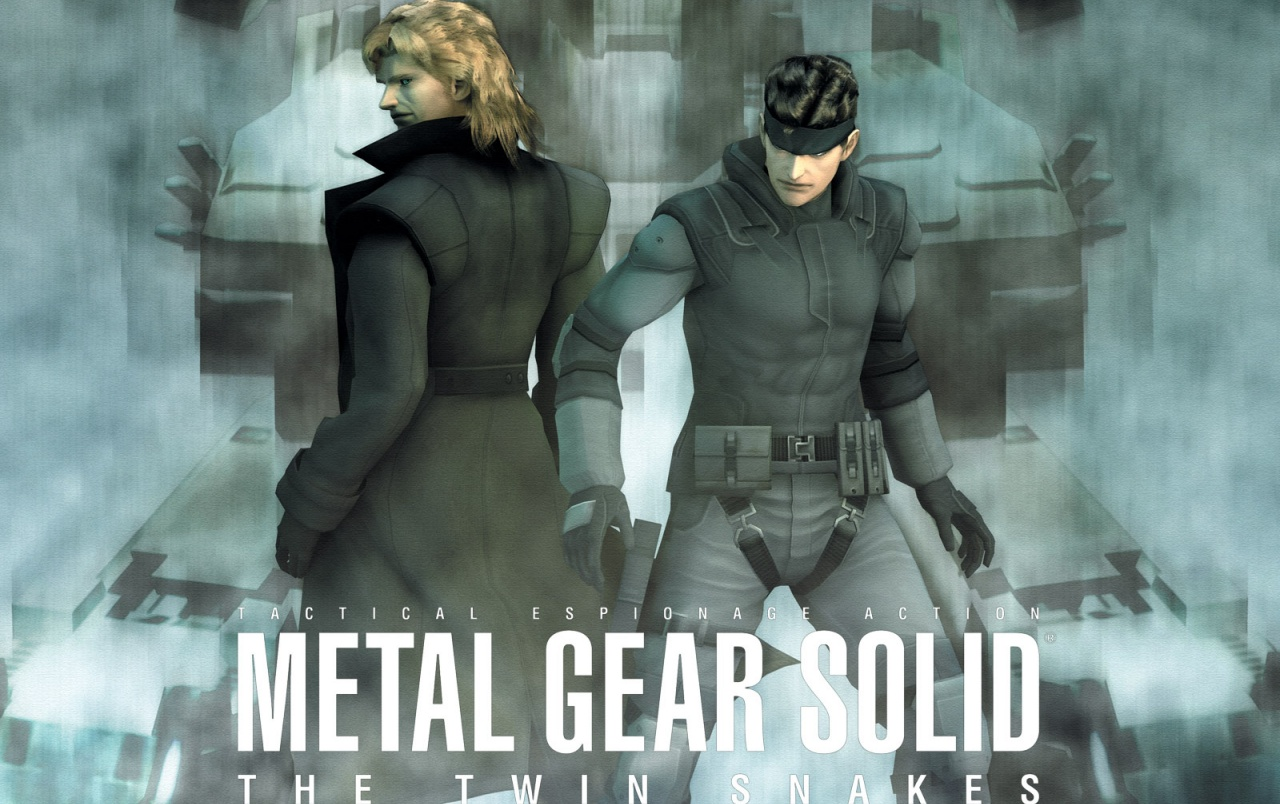 Metal Gear Solid Twin Snakes Wallpapers Metal Gear Solid Twin
