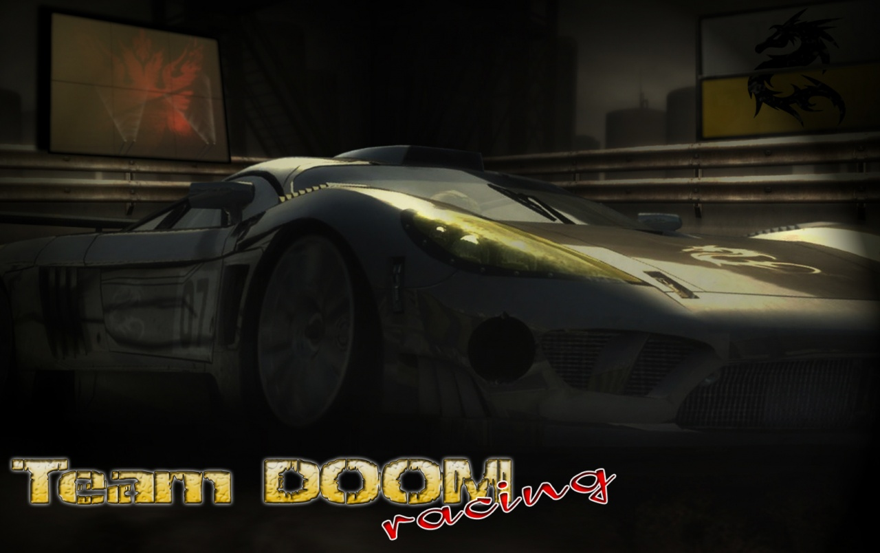 Team DOOM Rennen wallpapers