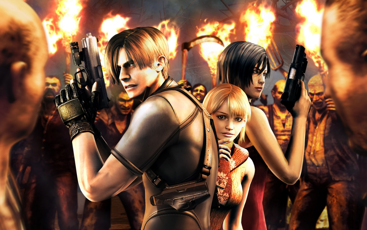 Resident Evil 4 Wallpapers Resident Evil 4 Stock Photos
