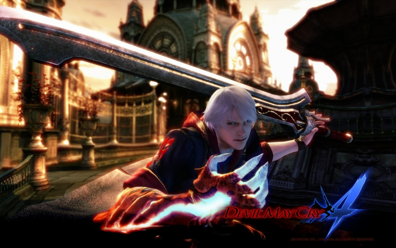 Devil May Cry 4 Wallpapers Devil May Cry 4 Stock Photos