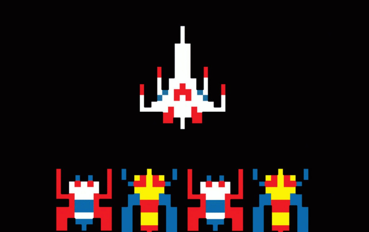 galaga wallpaper iphone - photo #11
