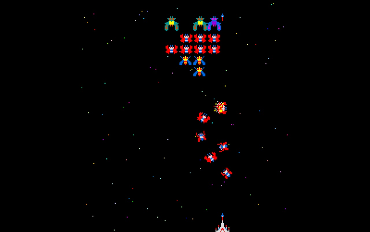Retro: Galaga wallpapers