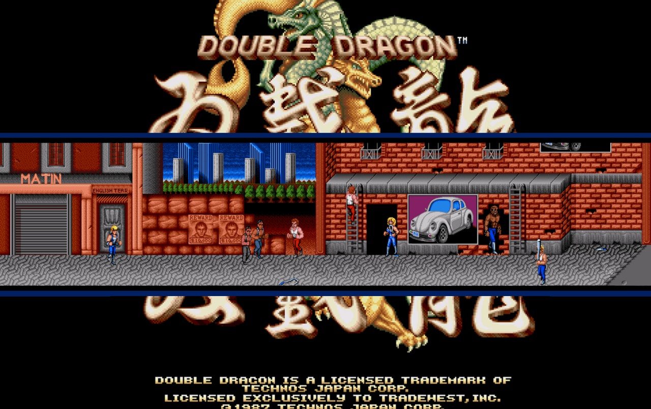 Retro Double Dragon Fondos De Pantalla Retro Double