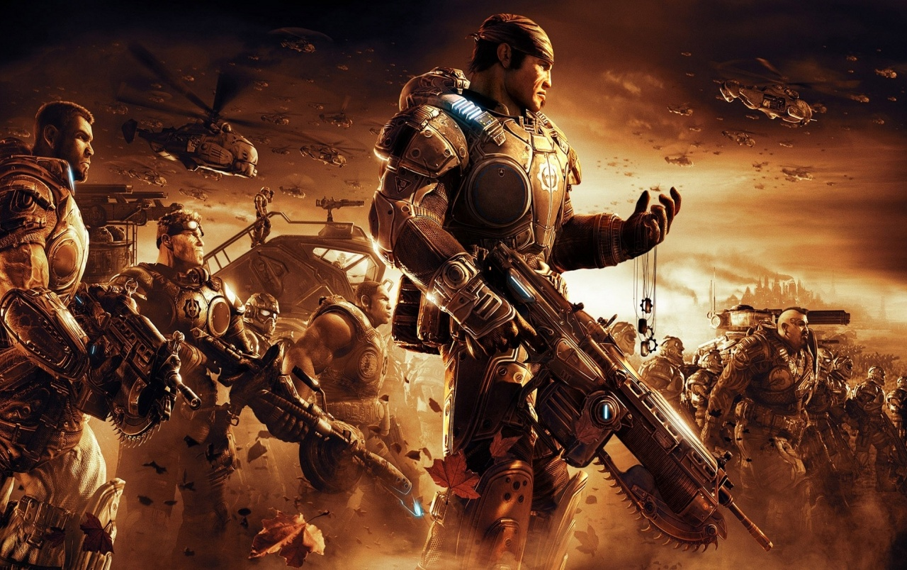 gears of war 2 wallpapers | gears of war 2 stock photos