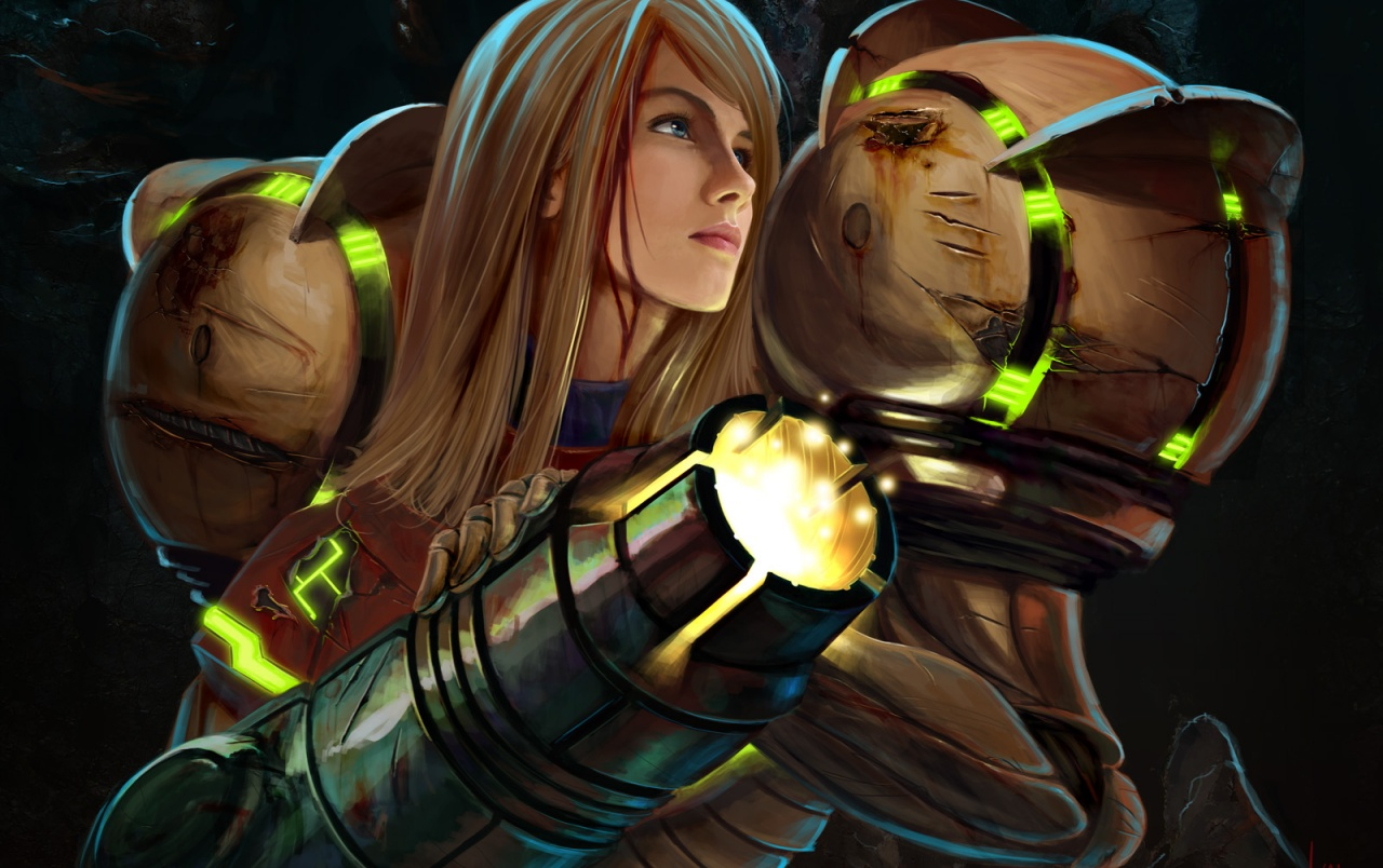 Metroid Prime Samus Aran wallpapers