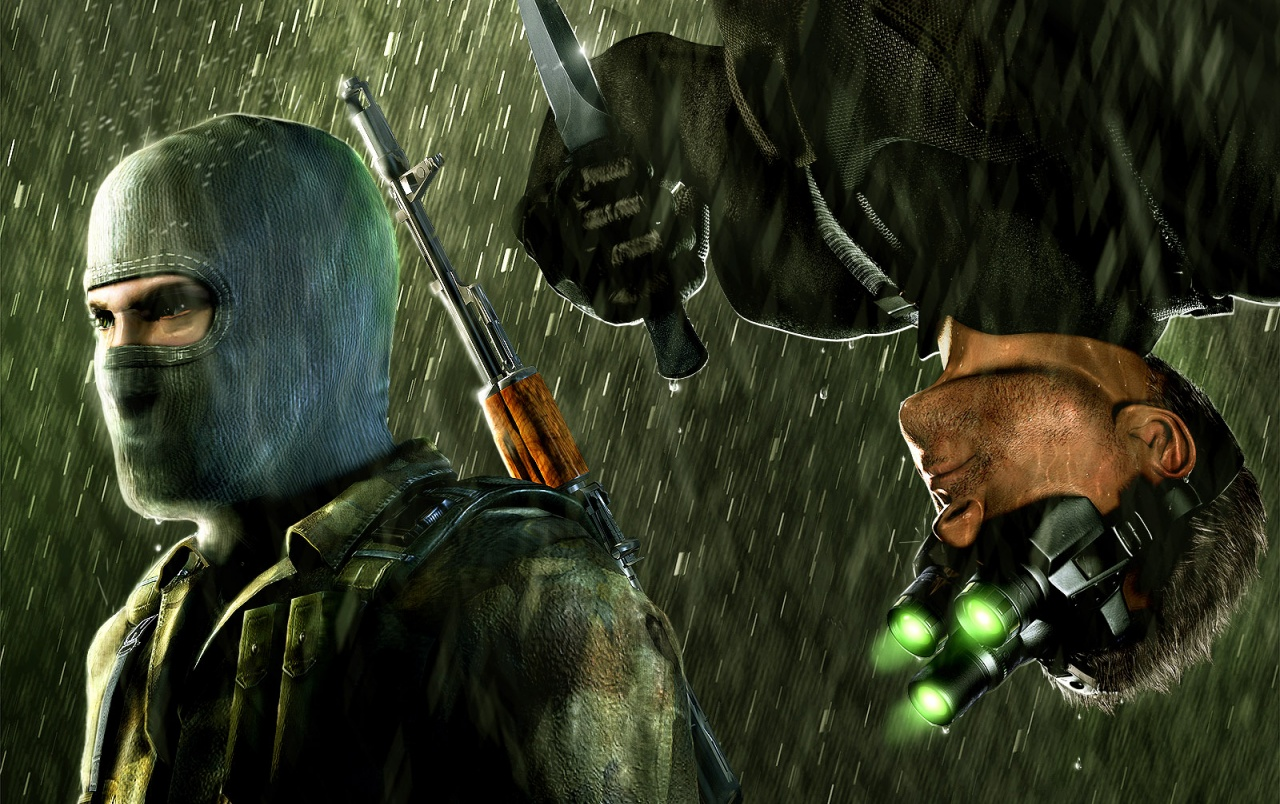 Splinter Cell Chaos Theory Fondos De Pantalla Splinter