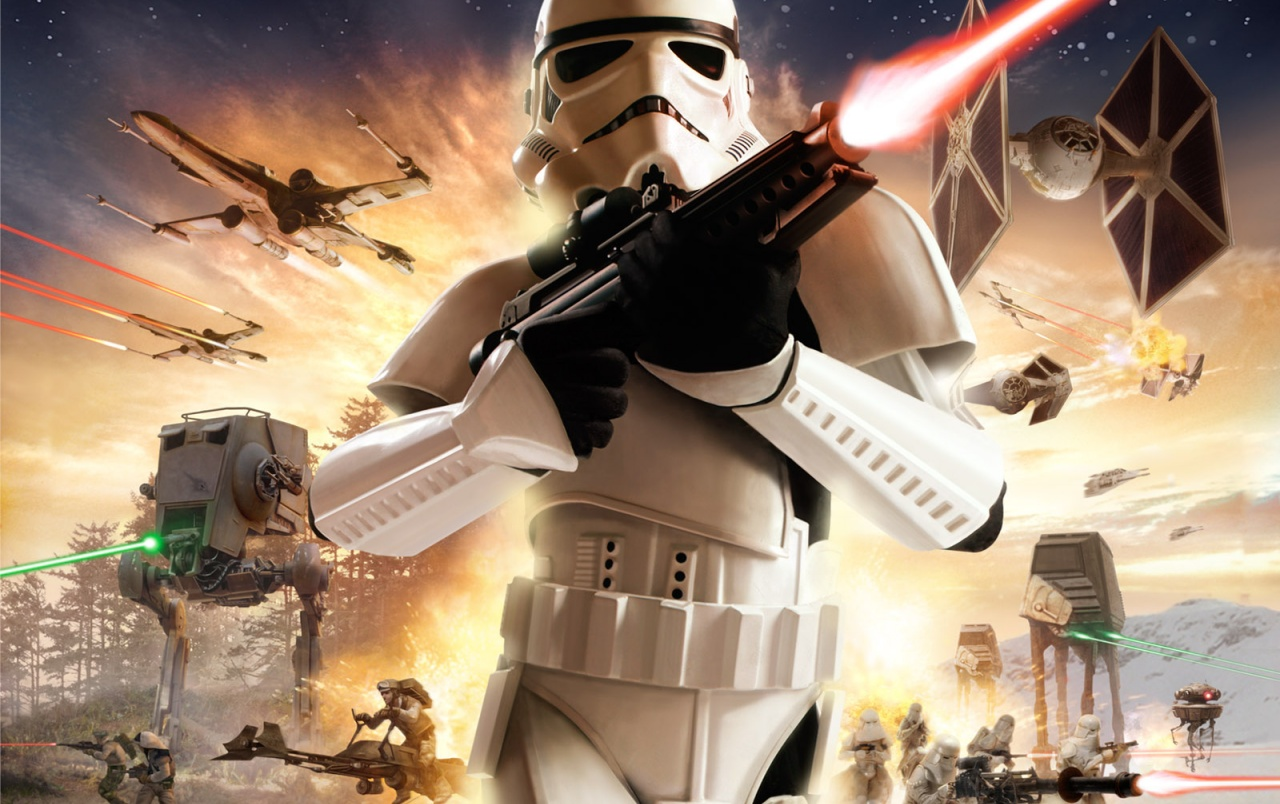 Original Star Wars Battlefront Wallpapers