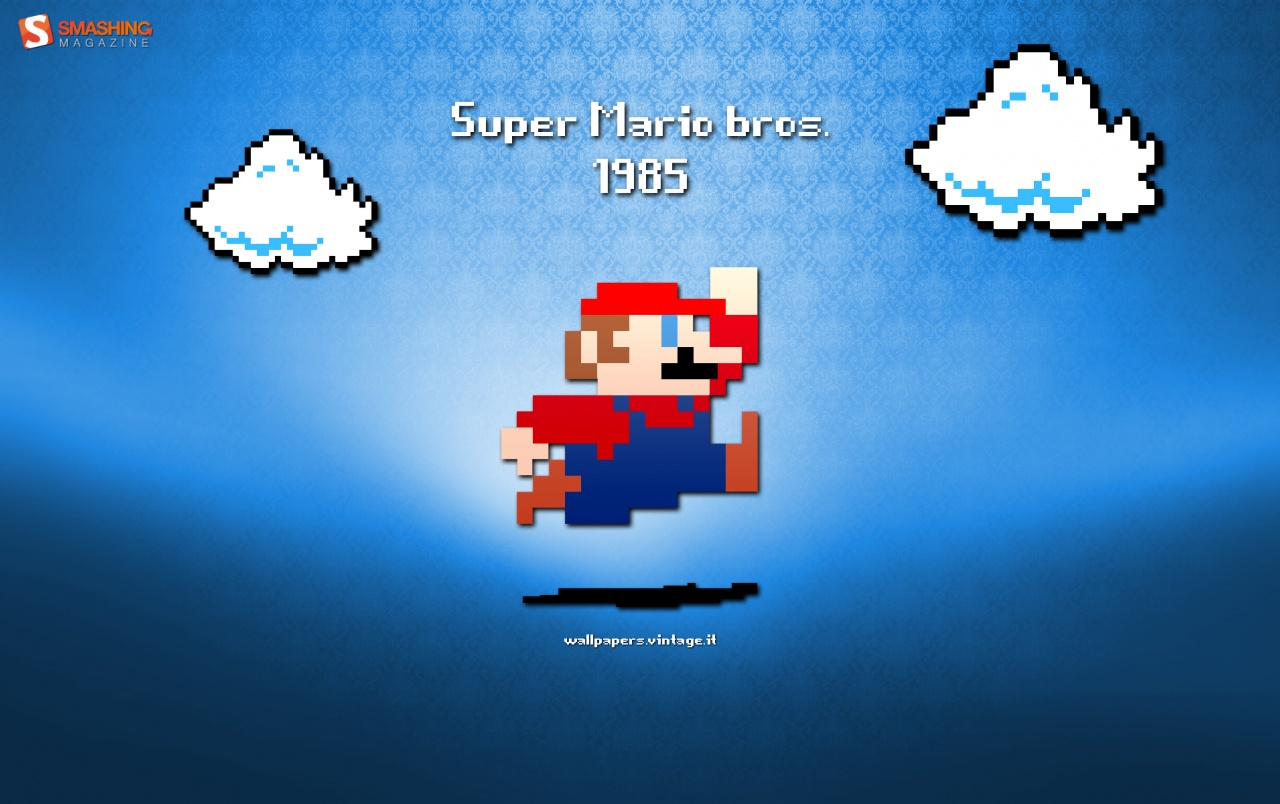 Retro Super Mario Wallpapers Retro Super Mario Stock Photos