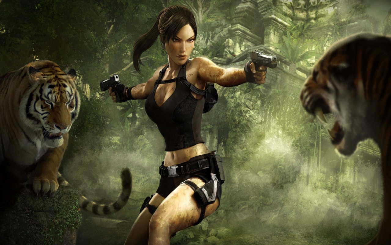 Tomb Raider Wallpapers Tomb Raider Stock Photos