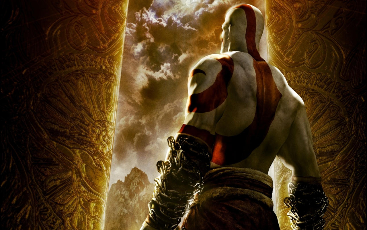 God Of War Chains Of Olympus Wallpapers God Of War