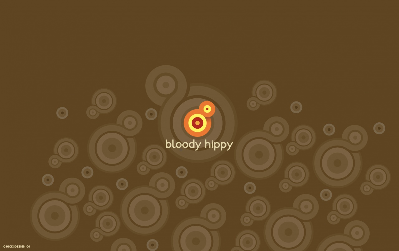 Bloody hippy wallpapers