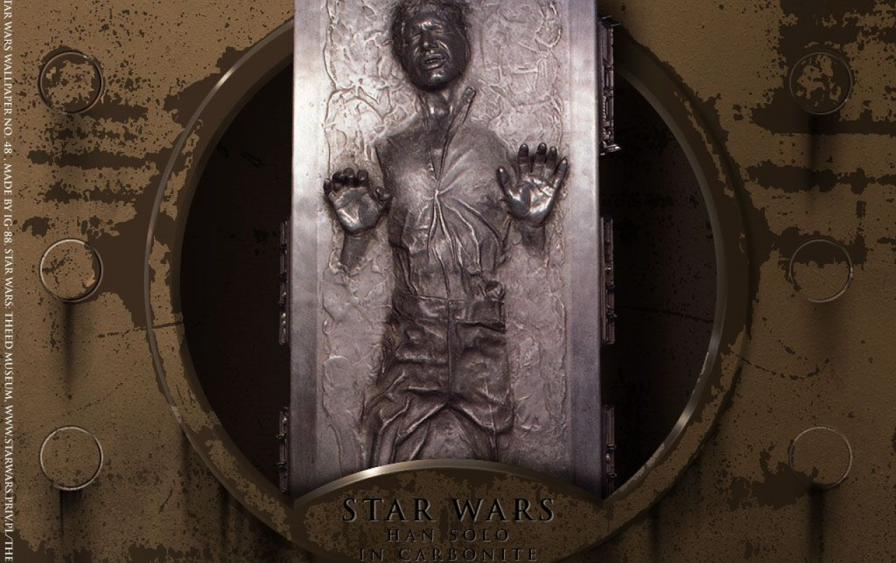 Han solo in carbonite wallpapers han solo in carbonite - Han solo wallpaper ...