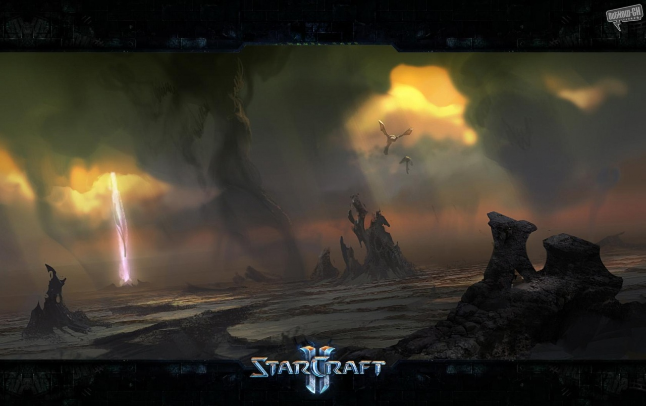 StarCraft II Heart of the Swarm promotional art