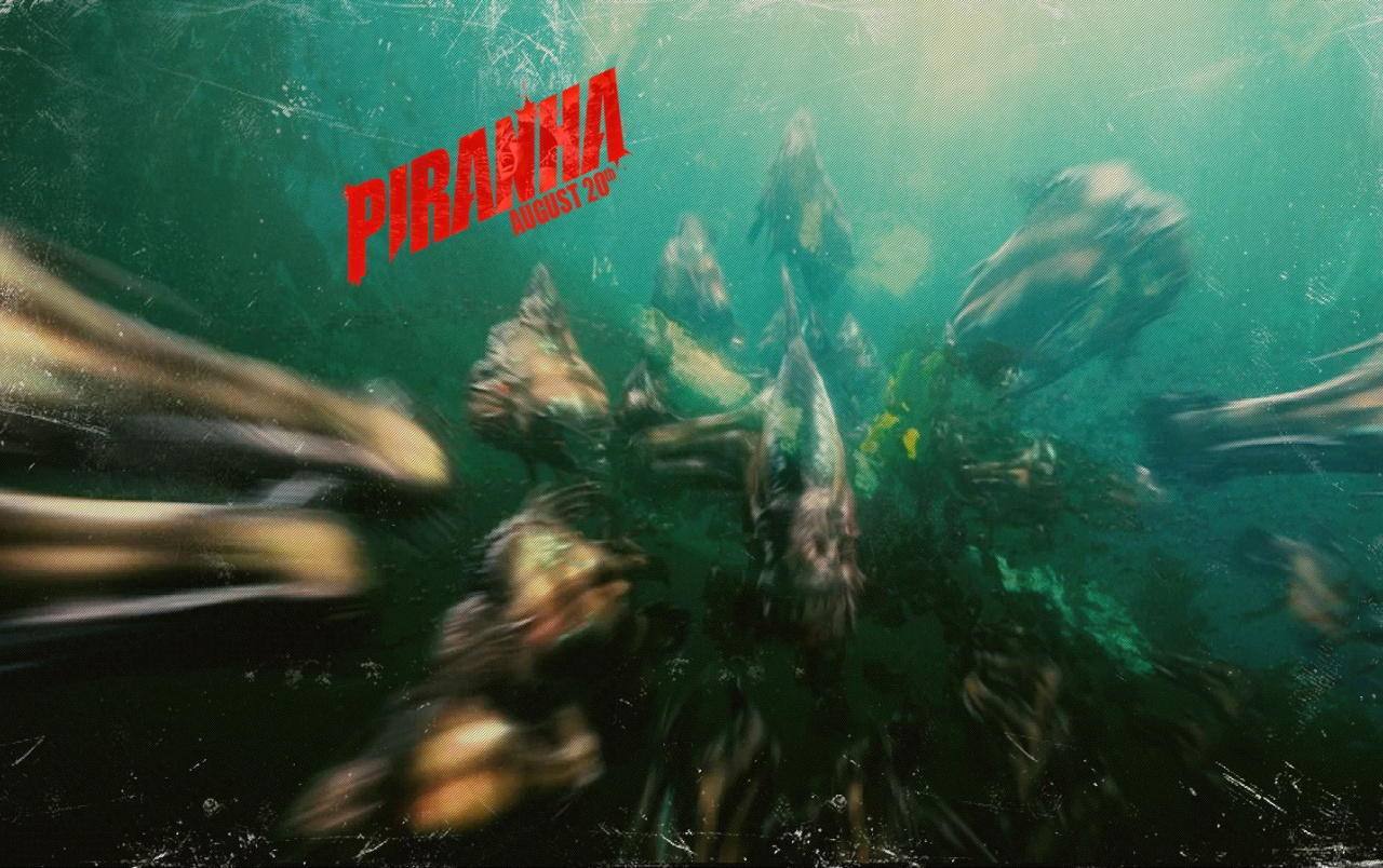 PIRANHA 3D wallpapers