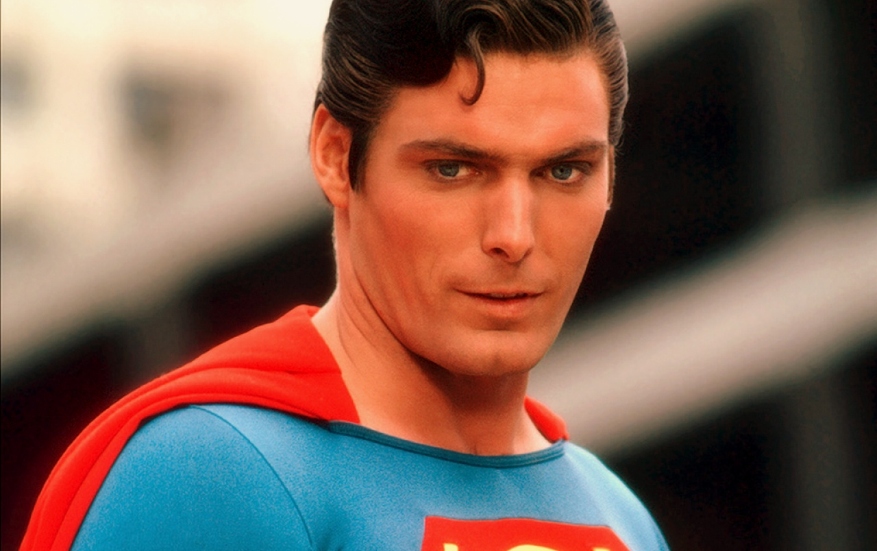 Christopher Reeve as Superman wallpapers
