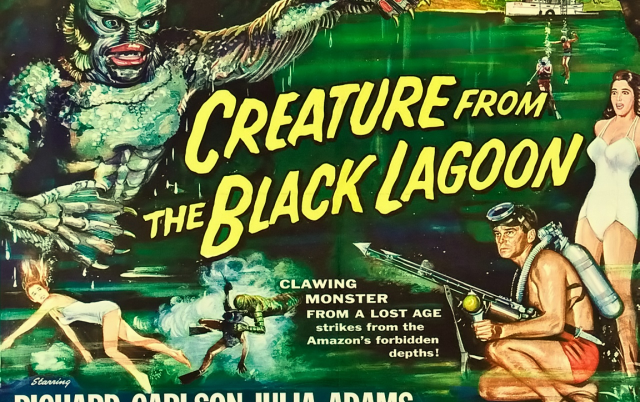 creature from the black lagoon wallpapers | creature from the black