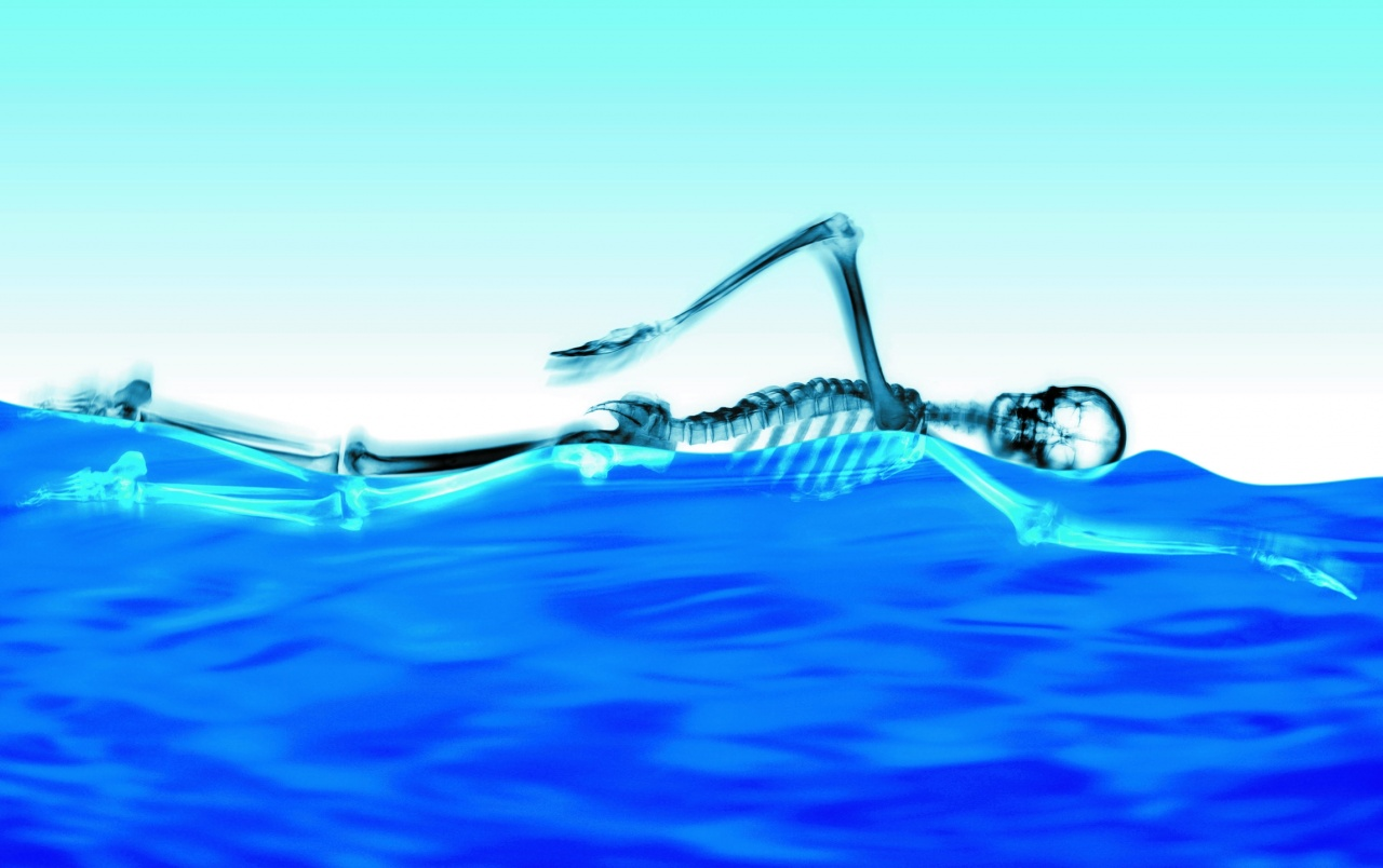 Swimming Skeleton wallpapers