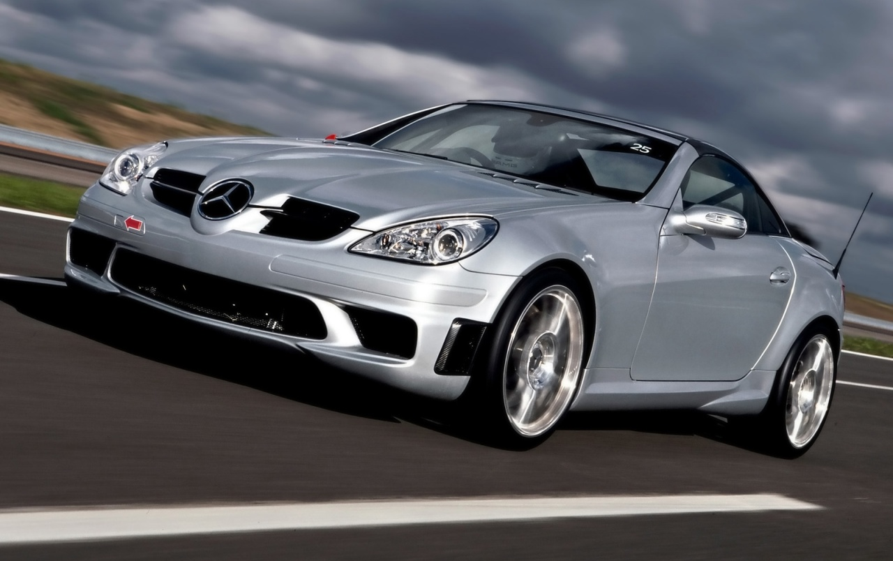 SLK 55 AMG front wallpapers