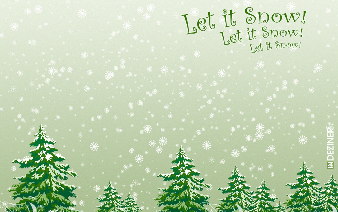 Let it snow wallpapers
