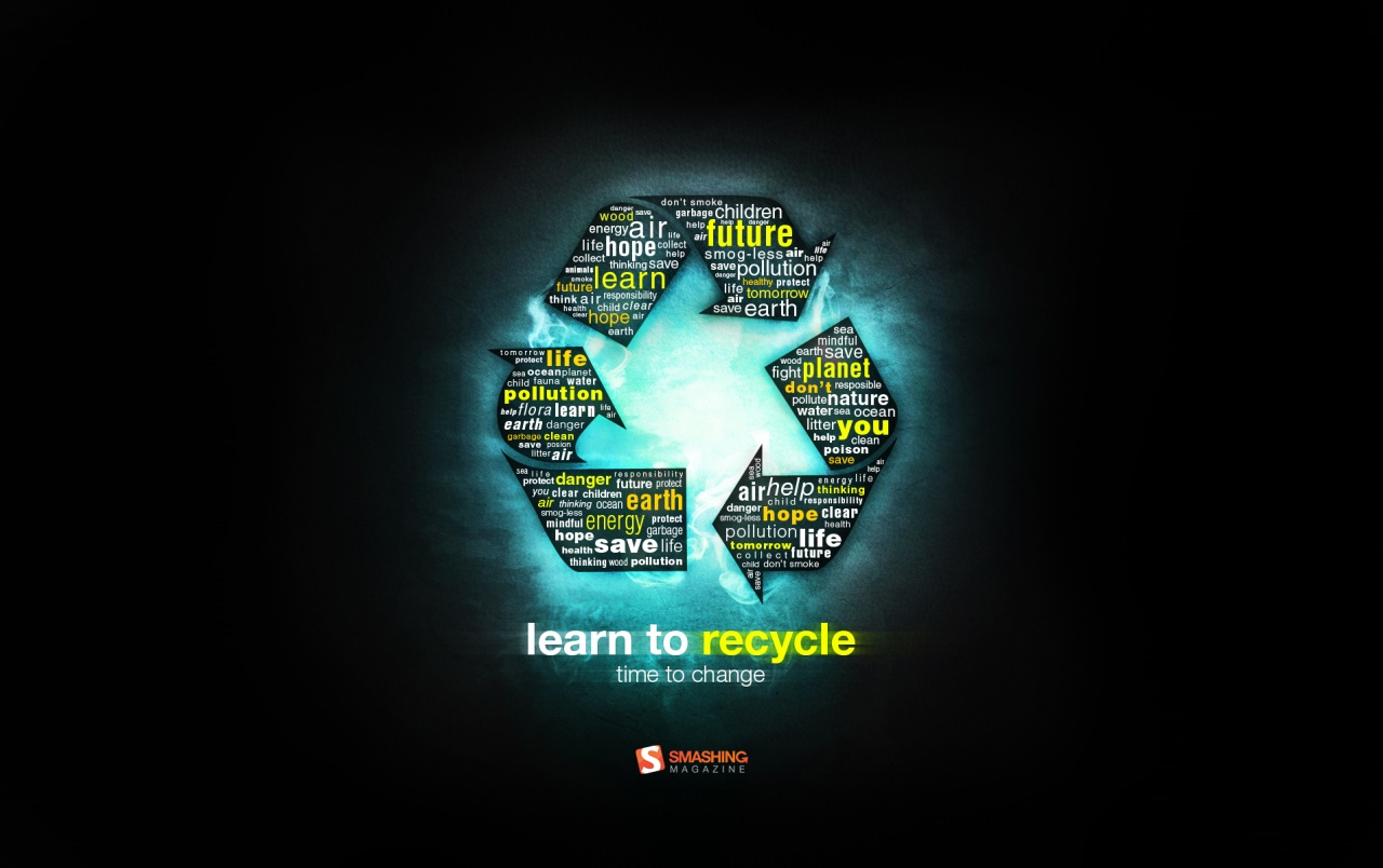 Learn to Recycle wallpapers and stock photos