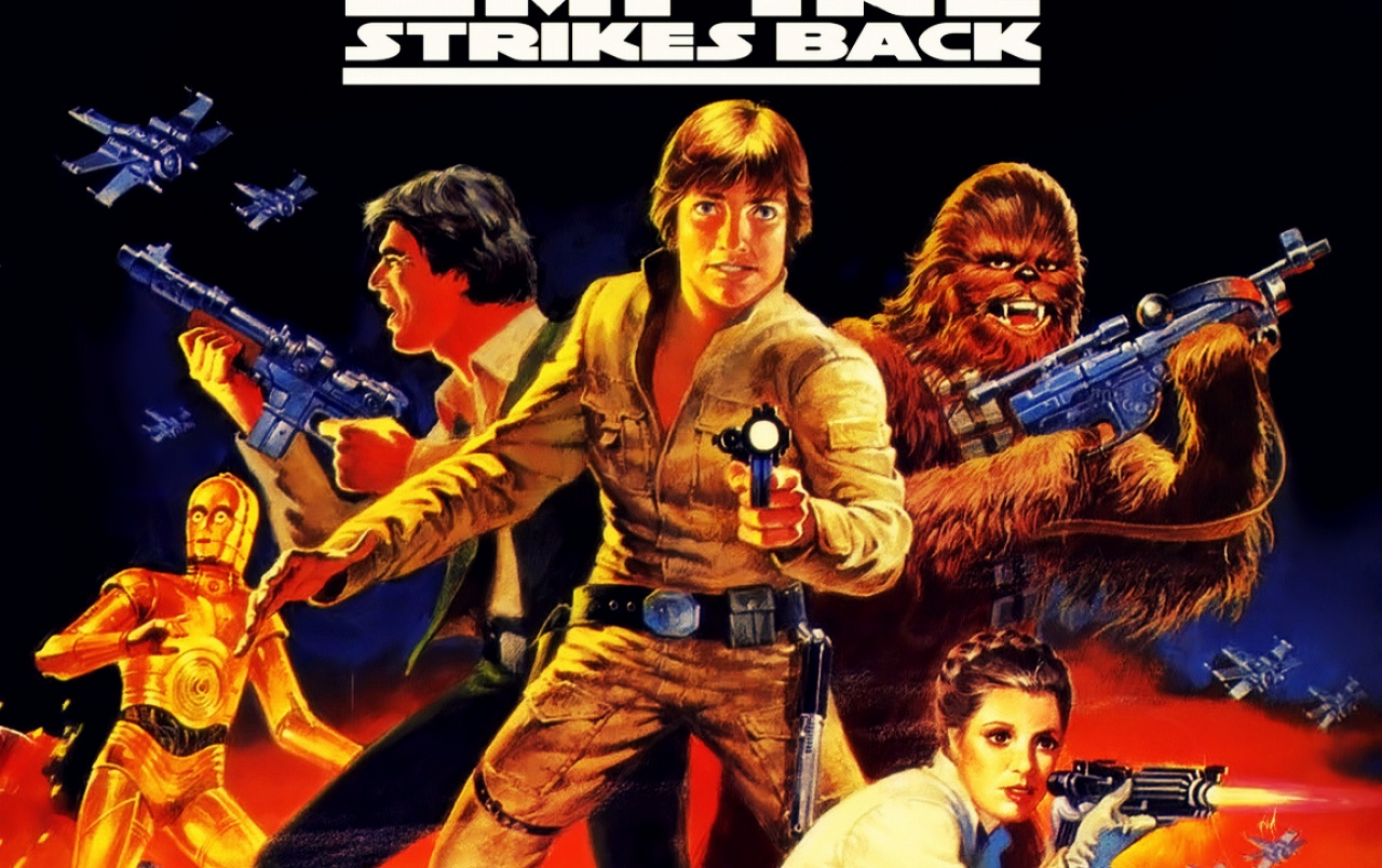 Empire Strikes Back Cover wallpapers