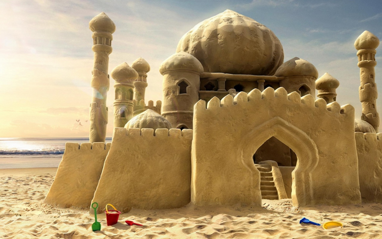 Sandcastle wallpapers
