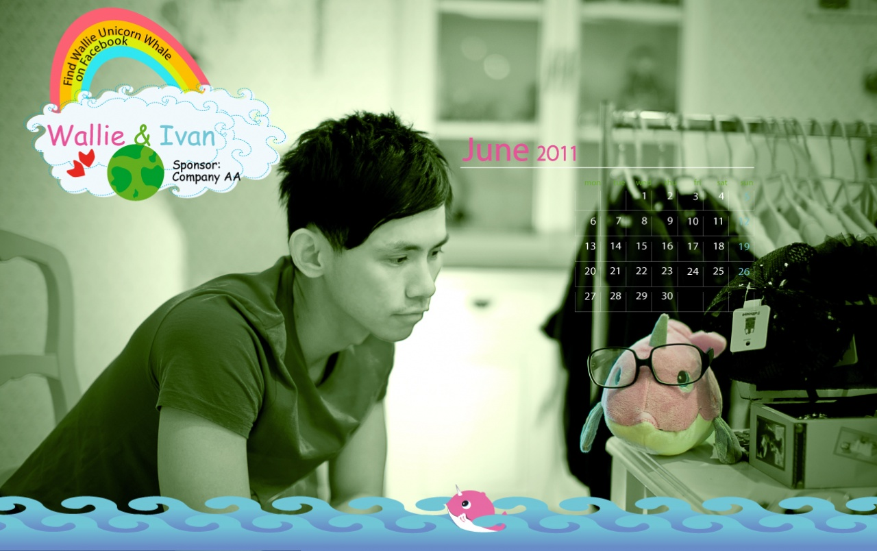 Calendar 2011 - June wallpapers