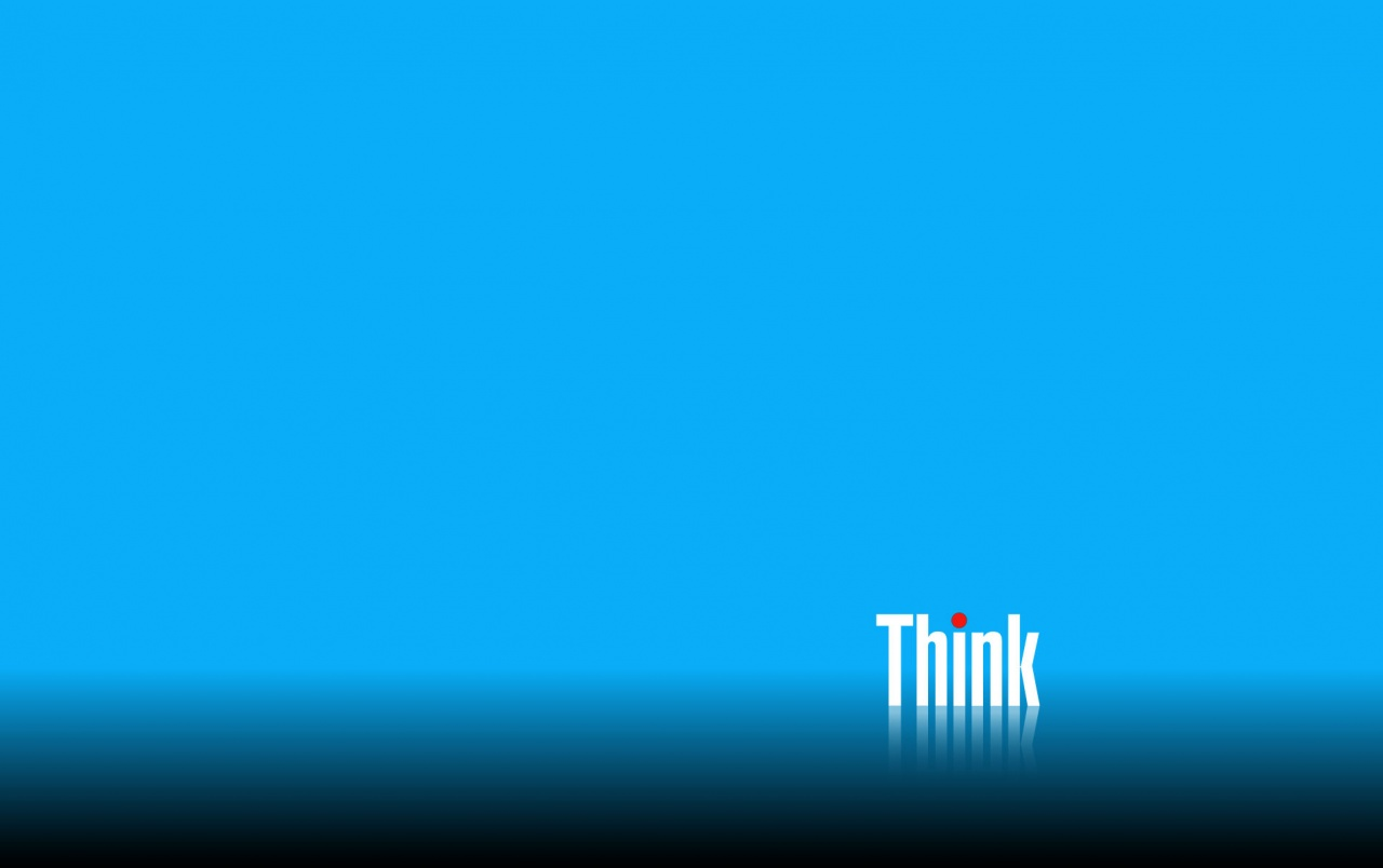 Think Blue wallpapers