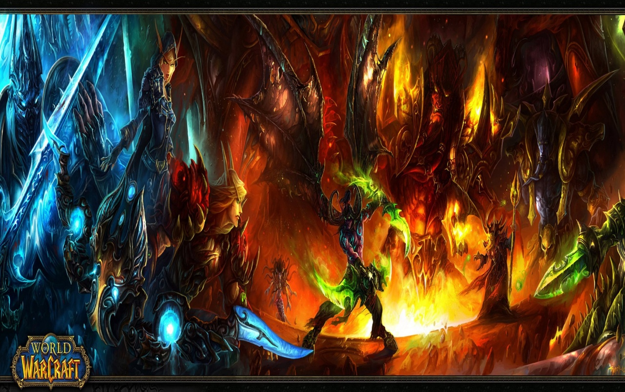 OriginalHD WOW Burning Crusade Wallpapers