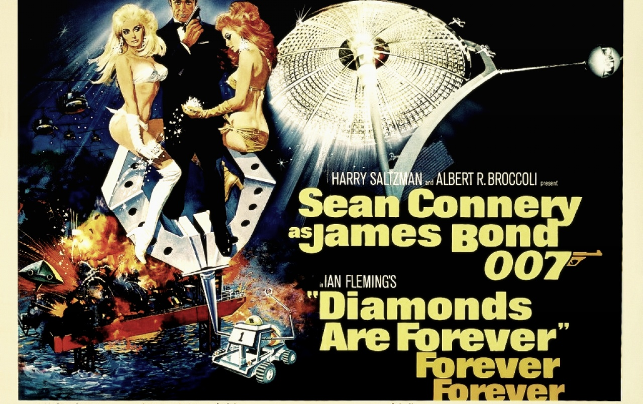 007 in Diamonds are Forever wallpapers