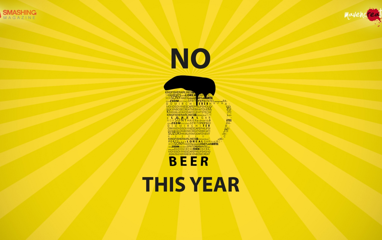 No Beer This Year wallpapers