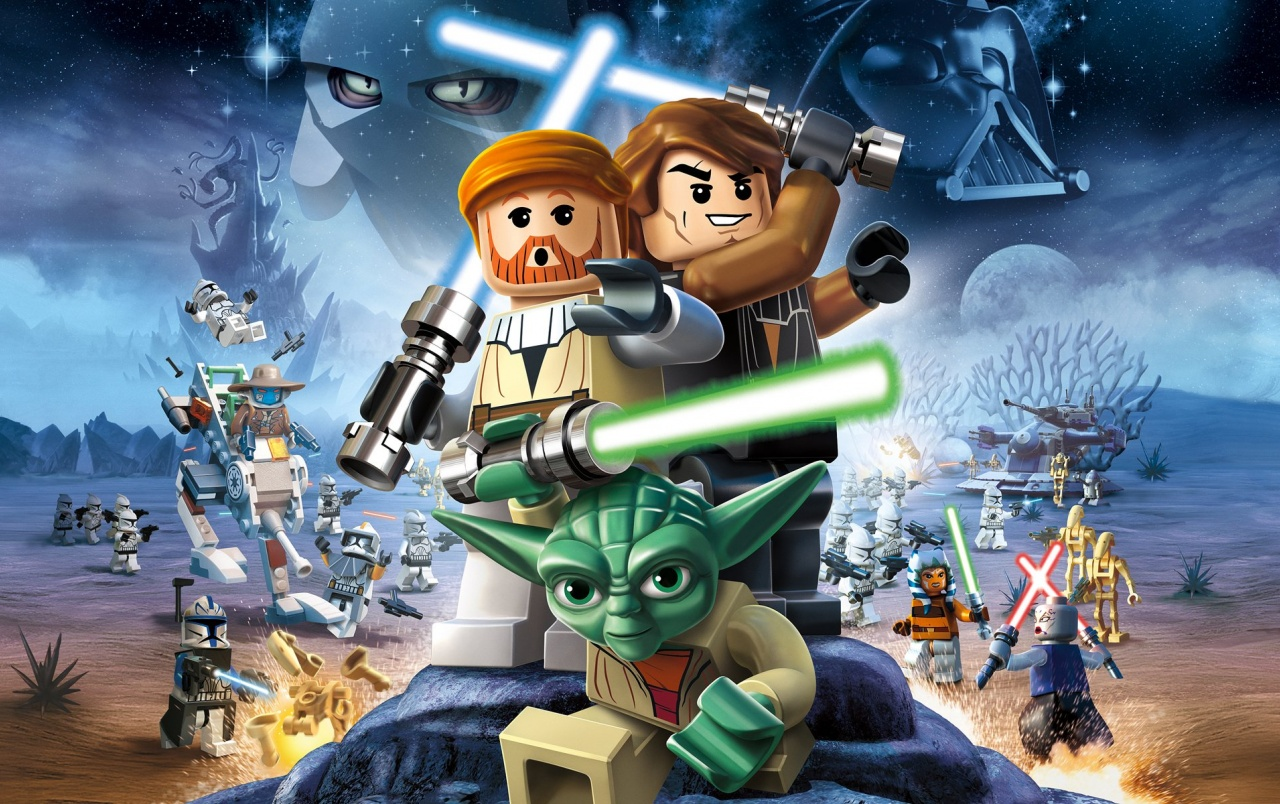 Lego Star Wars 3 Clone Wars Wallpapers Lego Star Wars 3 Clone