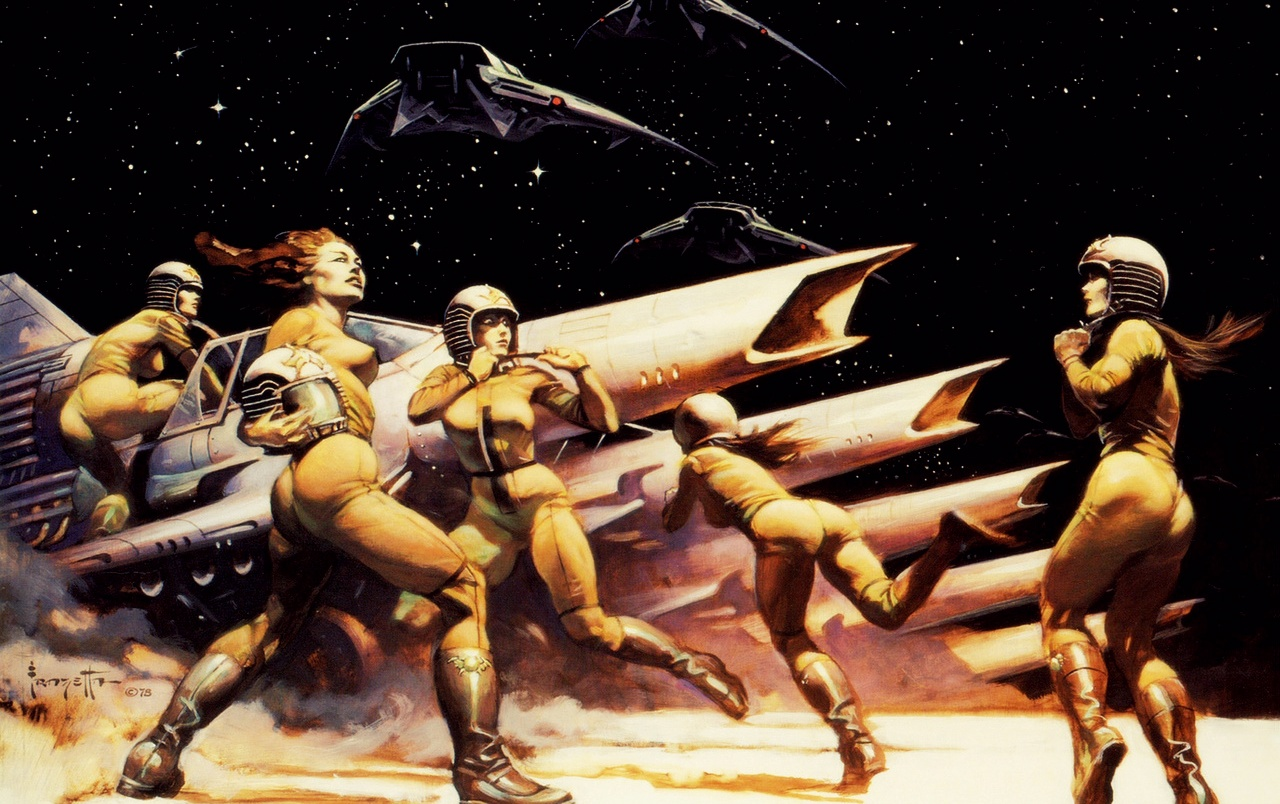 The Art of Frank Frazetta wallpapers