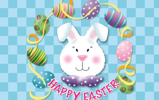 Easter bunny head wallpapers