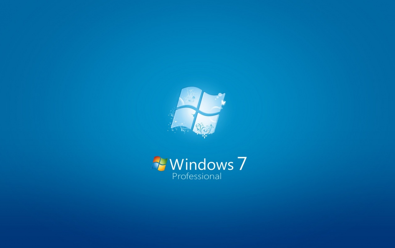 Win7 Professional wallpapers